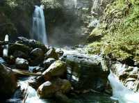 Sutherland Falls, Blanket Creek Park  British Columbia, Canada CM11-03