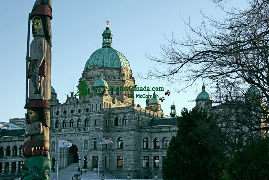 British Columbia Parliament Buildings, Victoria, Canada CM11-05