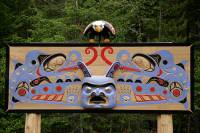 Highlight for Album: Bella Coola, Thorsen Creek Petroglyphics, British Columbia, Canada, British Columbia Stock Photos