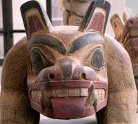 Bill Reid Bear (1963) Museum of Anthropology, British Columbia, Canada CM11-07
