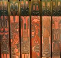 Bill Reid Carving for a Garden - 1960, Museum of Anthropology, British Columbia, Canada CM11-09