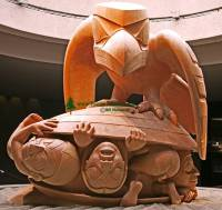 Highlight for Album: Bill Reid Art Photos, Museum of Anthropology, British Columbia, Canada, First Nation Stock Photos (Photos not for sale)