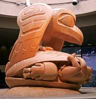 The Raven and the First Men by Bill Reid, Museum of Anthropology, British Columbia, Canada CM11-02