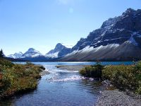Bow Lake, Icefields Parkway, Jasper National Park, Alberta, Canada 01
