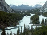 Bow River Valley, Banff National Park, Alberta, Canada 01