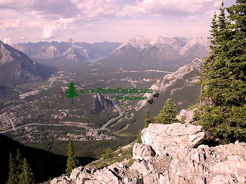 Bow River Valley, Banff National Park, Alberta, Canada CM11-02