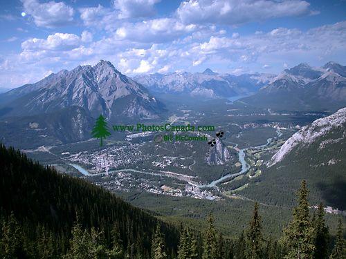 Bow River Valley, Banff National Park, Alberta, Canada CM11-04