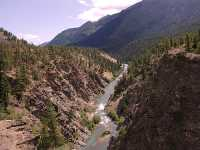Bridge River Valley, Lillooet, Gold Bridge, British Columbia, Canada  09