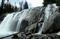 Bugaboo Creek Falls, Bugaboo Provincial Park, Kootenays, British Columbia, Canada CM11-003