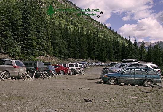 Bugaboo Provincial Park, Trail Head Parking Lot, Kootenays, British Columbia, Canada CM11-002