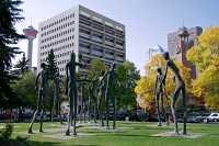 Family of Man Statue, Calgary, Alberta, Canada CM-07