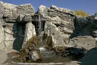 Waterfalls, Calgary Zoo, Alberta CM11-09