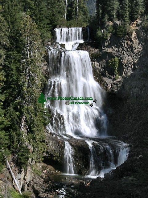 Alexander Falls, Callaghan Valley, Whistler, British Columbia, Canada, CM11-02