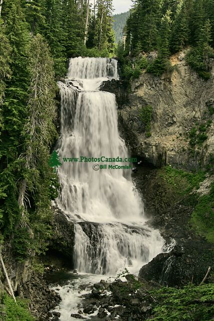 Alexander Falls, Callaghan Valley, Whistler, British Columbia, Canada, CM11-02B