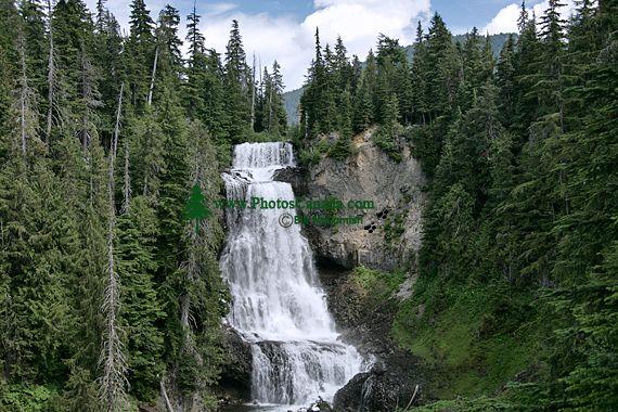 Alexander Falls, Callaghan Valley, Whistler, British Columbia, Canada, CM11-02A
