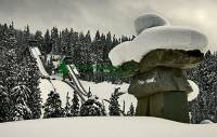 Highlight for Album: Callaghan Valley Photos, Nordic events for the 2010 Winter Olympics, Cross country skiing, Nordic combined, Biathlon, Ski jumping, Stock Photos Whistler, British Columbia, Canada, Host City of the XXI Olympic Winter Games and Paralympic Games in 2010