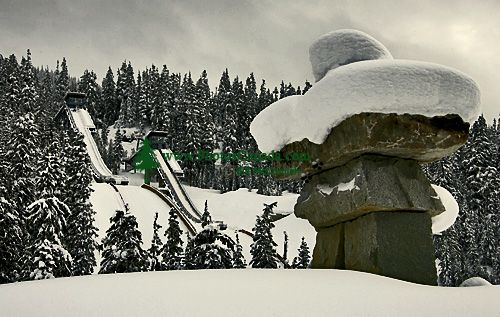 Callaghan Valley, Ski Jump, Whistler, British Columbia, Canada, CM11-03