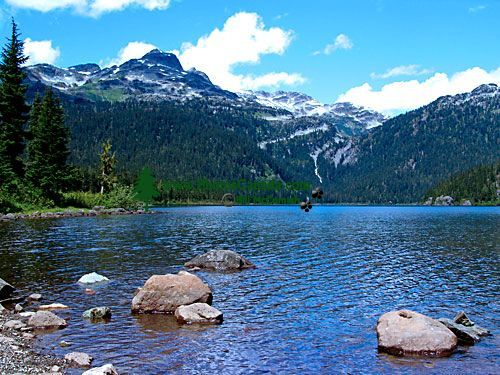 Callahan Lake, Whistler, British Columbia, Canada 01