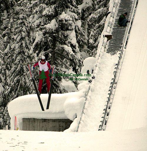 Canadian National Ski Jump Championship 2008, Callaghan Valley, Whistler, British Columbia, Canada CM11-08