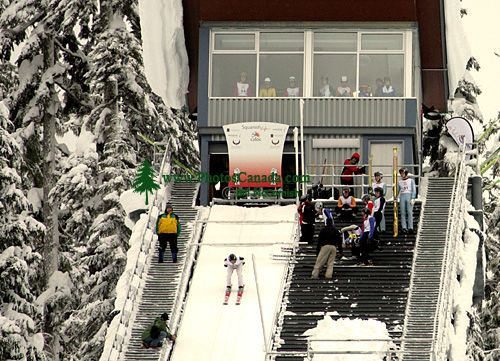 Canadian National Ski Jump Championship 2008, Callaghan Valley, Whistler, British Columbia, Canada CM11-05