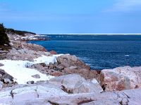 Cape Breton Coastline, Cape Breton Highlands National Park, Nova Scotia, Canada  05