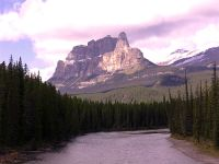 Castle Mountain, Banff National Park, Alberta, Canada 01