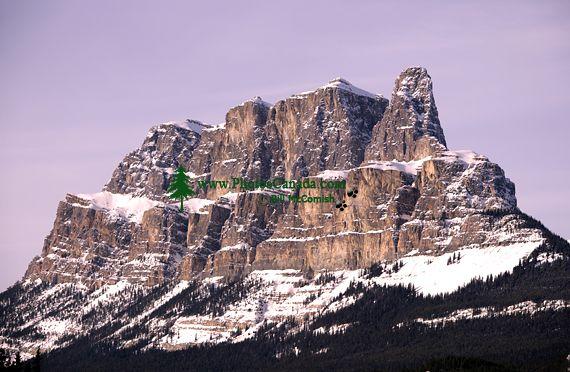 Castle Mountain, Banff National Park, Alberta, Canada CM11-06