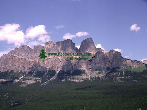 Castle Mountain, Banff National Park, Alberta, Canada CM11-03
