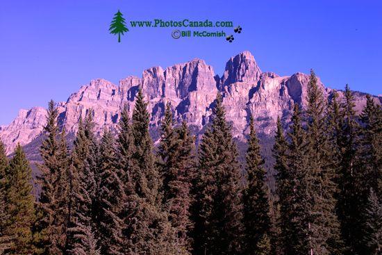 Castle Mountain, Banff National Park, Alberta, Canada CM11-09