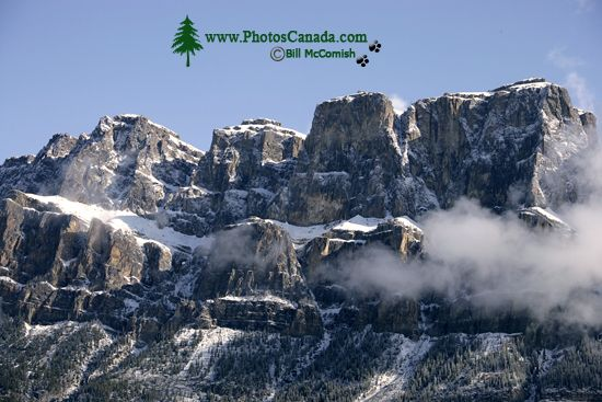 Castle Mountain, Banff National Park, Alberta, Canada CM11-07