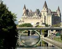 Château Laurier, Rideau Canal, Ottawa, Ontario, Canada CM11-03