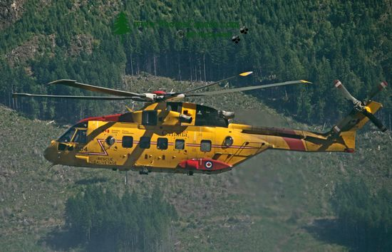 Comox Lake, Canadian Forces Searh and Rescue Exercise, Vancouver Island, CM11-005
