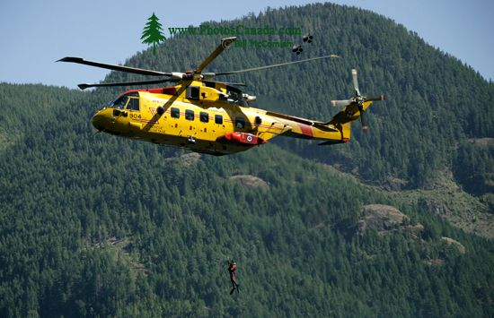 Comox Lake, Canadian Forces Searh and Rescue Exercise, Vancouver Island, CM11-003
