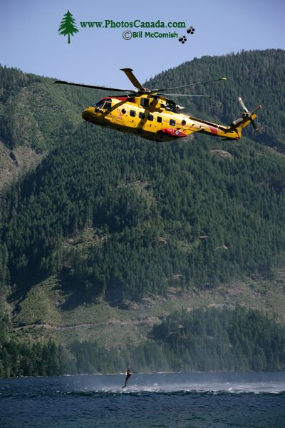 Comox Lake, Canadian Forces Searh and Rescue Exercise, Vancouver Island, CM11-007