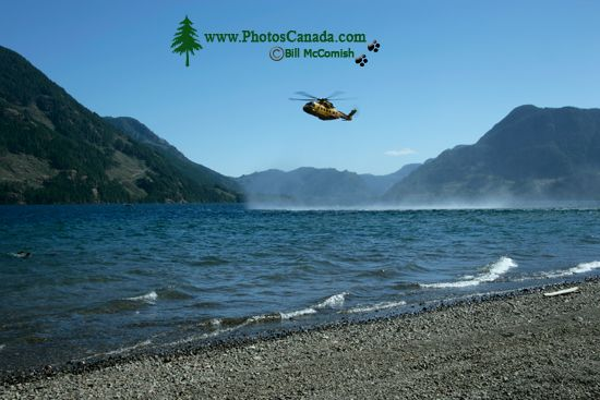 Comox Lake, Canadian Forces Searh and Rescue Exercise, Vancouver Island, CM11-001