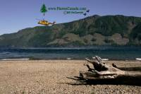 Highlight for Album: Comox Lake, Canadian Forces Searh and Rescue Exercise, Vancouver Island, British Columbia Stock Photos