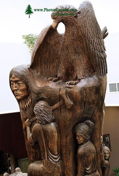 Cottonwood Carving, Kelowna, British Columbia, Canada CM11-004