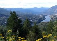 Highlight for Album: Crowsnest Pass Route Photos, Including Castlegar, Fernie, British Columbia, Canada