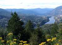 Castlegar and Columbia River, Crowsnest Highway, British Columbia, Canada 06