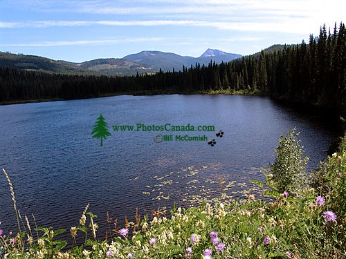 Nancy Green Lake, Rossland,  Crowsnest Highway, British Columbia, Canada 08