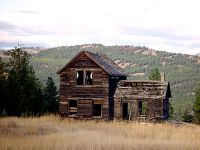 Abandoned Homestead, Crowsnest Highway, British Columbia, Canada 01