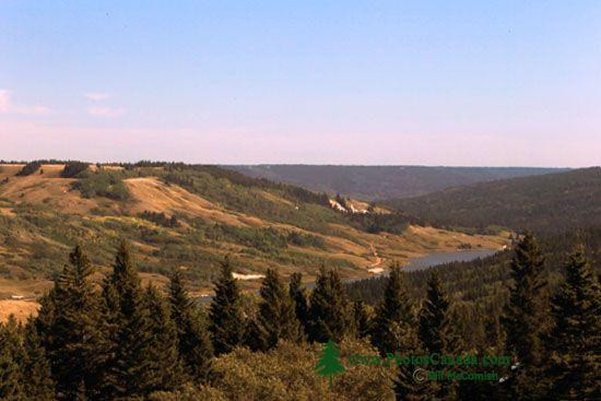Cypress Hills Provincial Park, Alberta, Canada CMX-005