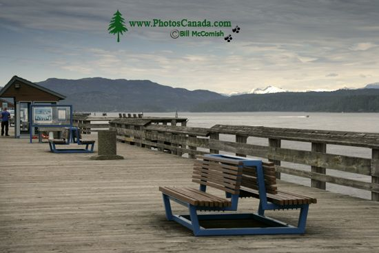 Campbell River, Discovery Pier, Vancouver Island, British Columbia, Canada CM11-02