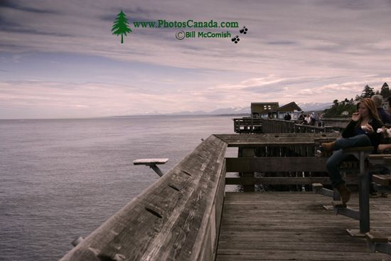 Campbell River, Discovery Pier, Vancouver Island, British Columbia, Canada CM11-03