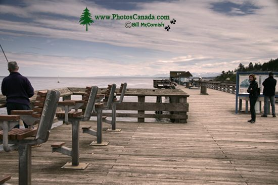 Campbell River, Discovery Pier, Vancouver Island, British Columbia, Canada CM11-04