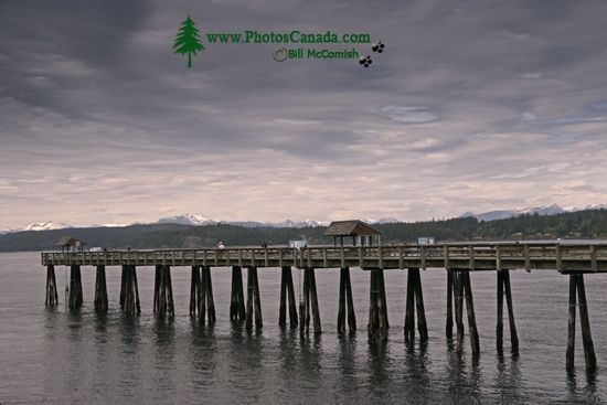Campbell River, Discovery Pier, Vancouver Island, British Columbia, Canada CM11-01