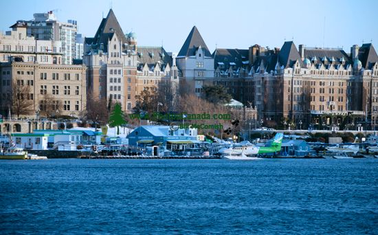 Empress Hotel, Victoria, Vancouver Island, British Columbia, Canada CM11-02