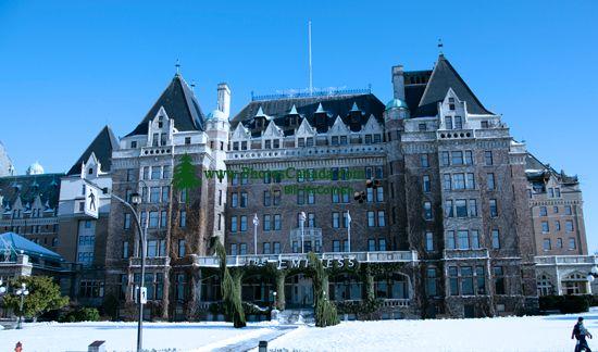 Empress Hotel, Victoria, Vancouver Island, British Columbia, Canada CM11-04