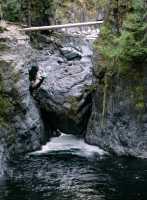Englishman Falls Park, Parksville, Vancouver Island CM11-001