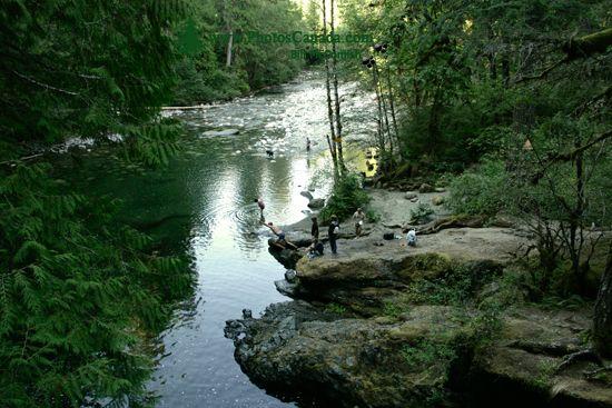 Englishman Falls Park, Parksville, Vancouver Island CM11-007